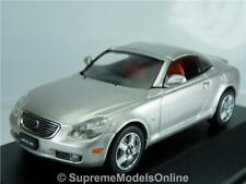 LEXUS SC430 2005 CAR MODEL 1/43RD SIZE SILVER 2 DOOR SPORTS TYPE BXD Y0675J^*^