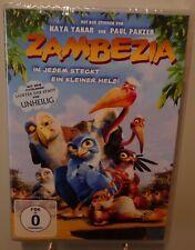 Zambezia + In jedem steckt ein kleiner Held + Toller Animation Spaß auf DVD #T4