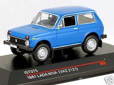 1/43 scale IST Models IST075 russian soviet VAZ 2121 NIVA dk blue USSR CCCP HTF