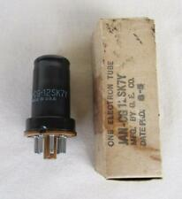 One Ge Jan-Cg-12Sk7Y Dated 8-5 New Old Stock Vacuum Tube Tested Good