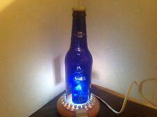 Handmade Bud Light Platinum Beer Bottle Table Lamp, Novelty Lamp-BUD LIGHT