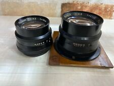 [Exc+5] Fuji Photo Fujinar 210mm f4.5 Large Format Lens + Bonus lens from JAPAN