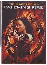HUNGER GAMES CATCHING FIRE (DVD, 2014)