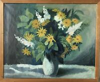 Large Bouquet IN One Vase - Art Deco - Um 1930 - Unsigned