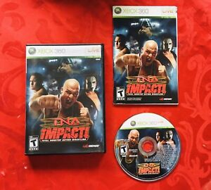 TNA Impact (Microsoft Xbox 360, 2008) Wrestling - Complete With Manual