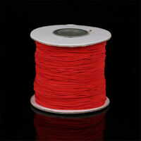 5 metres DIY Jewelry Making Beading String Elastic Stretch Cord Thread 1mm 2mm