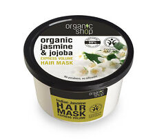Organic Shop Organic Jasmine & Jojoba Express Volume Hair Mask 250ml No SLS
