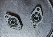 New Listing2pcs 8mm Bore Diameter Kfl08 Pillow Block Bearing Flange Rhombic Bearings Us