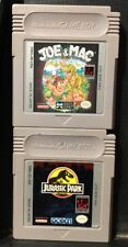 Joe & Mac And Jurassic Park (Nintendo Game Boy)