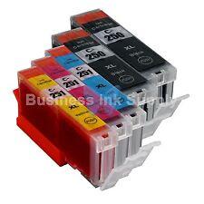 5PK Canon PGI-250XL CLI-251XL Compatible Ink Cartridge PGI-250 CLI-251 2PGI+3CLR
