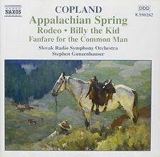 Copland, Aaron Appalachian spring/Rodeo/Billy the Kid... (Naxos, 1989) [CD ALBUM]