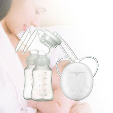 New Electric Breast Pump Mute Automatic Dual Breastpump Infant Feeding With USB