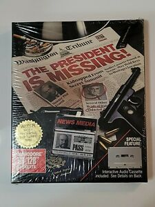The President is Missing! Graphic Adventure Simulation C64/128 Disk Cosmi NEW
