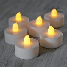 6 Candele Candela Tea light Effetto Tremolio Fiammella a Batteria Lumino a Led