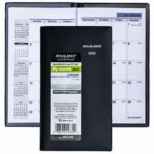2022 At A Glance Dayminder Sk53 00 Monthly Pocket Planner 3 58 X 6 116