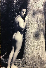 SKYLANDS Outdoor Nude Male Nature Original Self-portrait Photo Art Print--PABLO