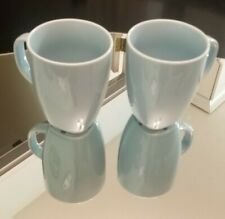 PAIR OF IKEA 365 LIGHT BLUE COFFEE MUGS