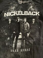 Nickelback T Shirt Dark Horse 2010 Adult Small (pre-owned)
