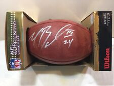 Official Wilson Nfl The Duke Game Ball Football Cowboys Signed Marion Barber New