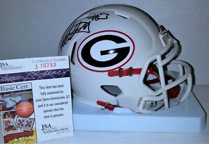 Todd Gurley Signed Autographed Georgia Bulldogs Mini Helmet JSA J19793 Lmt Ed