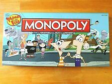 Disney Phineas and Ferb Monopoly Board Game Collector's Edition Rare Complete