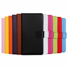 Luxury Genuine Leather Flip Stand Case Wallet Cover For Nokia Lumia 930