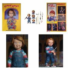 "AUTHENTIC REAL ULTIMATE CHUCKY DOLL Good Guys NECA CHILDS PLAY 4"" ACTION FIGURE"