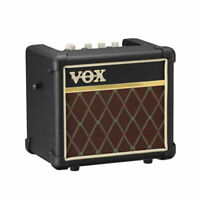 Vox Mini3 G2 Modeling Guitar Amplifier 3 Watt Battery Powered Classic