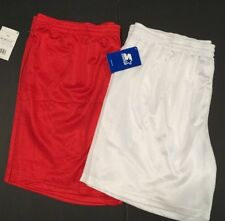 Lot Of 2 Pairs Big Mens Basketball Shorts Sz 2XL Red & White Starter NWT  #HWR