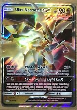 Pokemon Card: ULTRA NECROZMA GX SM126 Dragon Majesty Box Ultra Rare Promo NM