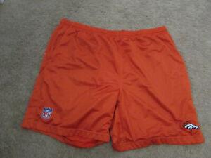 Vintage Denver Broncos Reebok Team Apparel Orange Shorts Mens Size XXXL NFL