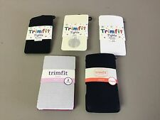 NWT Girl's Mixed Lot Trimfit Tights Size 8-10 Multi 7 Pair #185R