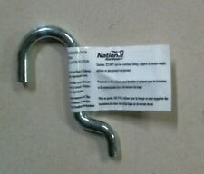 """National Hardware Sp2355, 5/8"""" Curved Heavy Peg Hooks Lot Of 9 Free Shipping"""