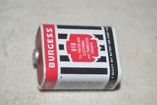 BURGESS U10 TRANSISTOR BATTERY 15 volts DEAD for DISPLAY