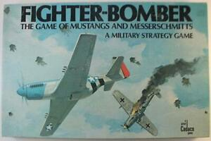 Cadaco Boardgame Fighter-Bomber - The Game of Mustangs and Messerschmitts VG
