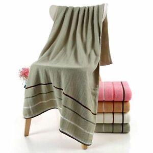 Adult Kids Bath Towel Large Thick Face Washcloths Home Hotel Use Cotton 3Pcs/Set