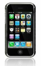 Neu Macally Schwarz Metro Hartschale+Displayschutzfolie für Apple IPHONE 3G 3GS