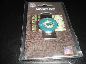 NFL Miami Dolphins  Money Clip Metal Cash Holder Team Emblem