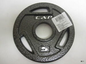CAP Barbell 2-Inch Olympic Grip Plate 5lbs