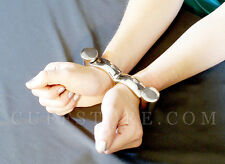 """Large 8"""" Double Cylinder Darby Irish-8 Handcuffs with Screw Style Key"""