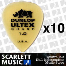 10 x Jim Dunlop Ultex Sharp 1.00mm Picks Plectrums 1.00 1mm 433R *10 PICKS*