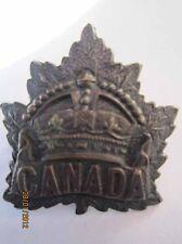 CAP BADGE INSIGNIA CANADIAN - GENERAL SERVICE BADGE