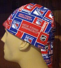 NHL New York Rangers 100% cotton, Welding, Biker, pipefitter,4 panel hat