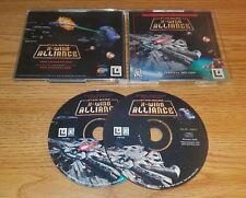 Star Wars: X-Wing Alliance (PC, 1999) windows space in-cockpit combat sim