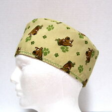 Scooby Doo Mens Scrub Hat, Skull Cap, Chemo Hat, Nurse Medical Cap