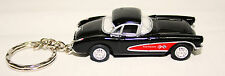 Diecast Car Model:1957 Chevrolet Covette With Keyring  Size 1:64 Great Gift NEW