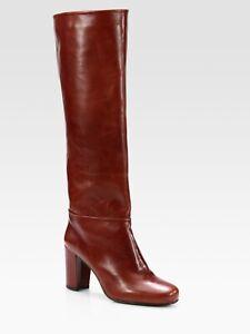 NIB Stuart Weitzman Women's Brown Mahogany Toujours Boots 7 M