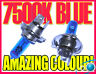 H4 7500K Xenon Headlight Bulbs Headlamp Replacement For Skoda Favorit 89-96