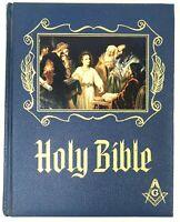 1971 Holy Bible KJV Heirloom Masonic Master Reference Edition Red Letter Gold