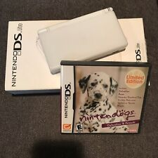 Nintendo Ds Lite Console With Limited Edition Nintendogs Game